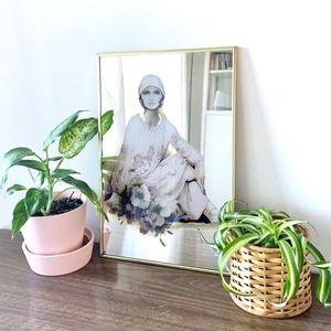 VINTAGE Sara Moon Decorative Mirror